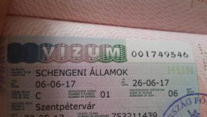Венгерская виза для россиян