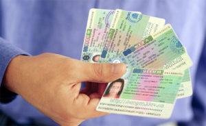 Получение визы в консульстве