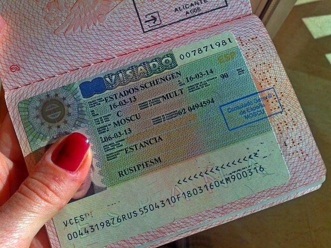 Испанская виза для россиян