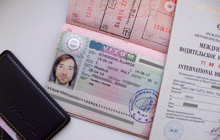 Документы на венгерскую визу для россиян