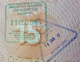 Бесплатный штамп Бали