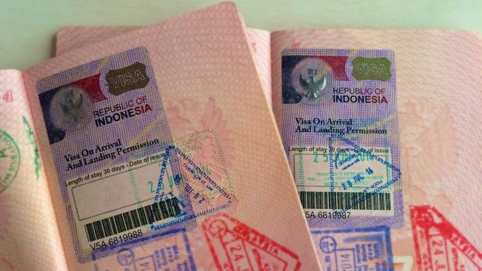 Виза на Бали по прибытии