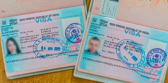 Индийская виза, оформленная через консульство