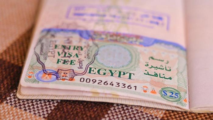 Виза в Египет в аэропорту