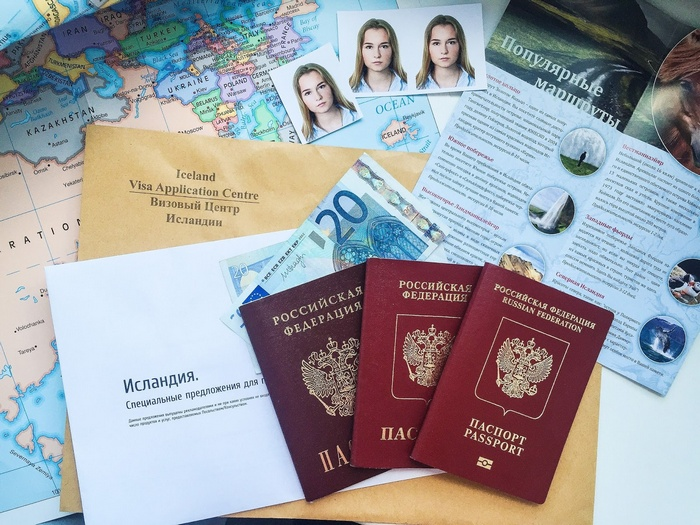 Виза в Исландию для россиян