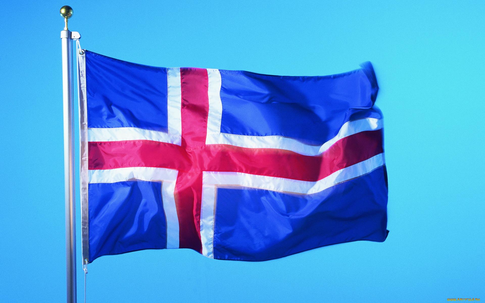Исландии флаг